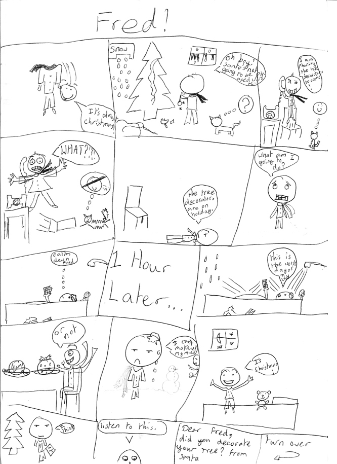 Freds Christmas page 1